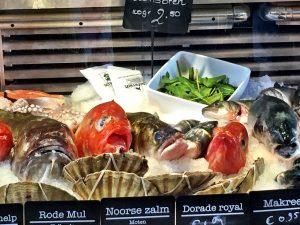 Frischer Fisch im Bio-Markt Marqt