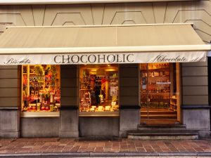 Chocolaterie Chocoholic in Brügge