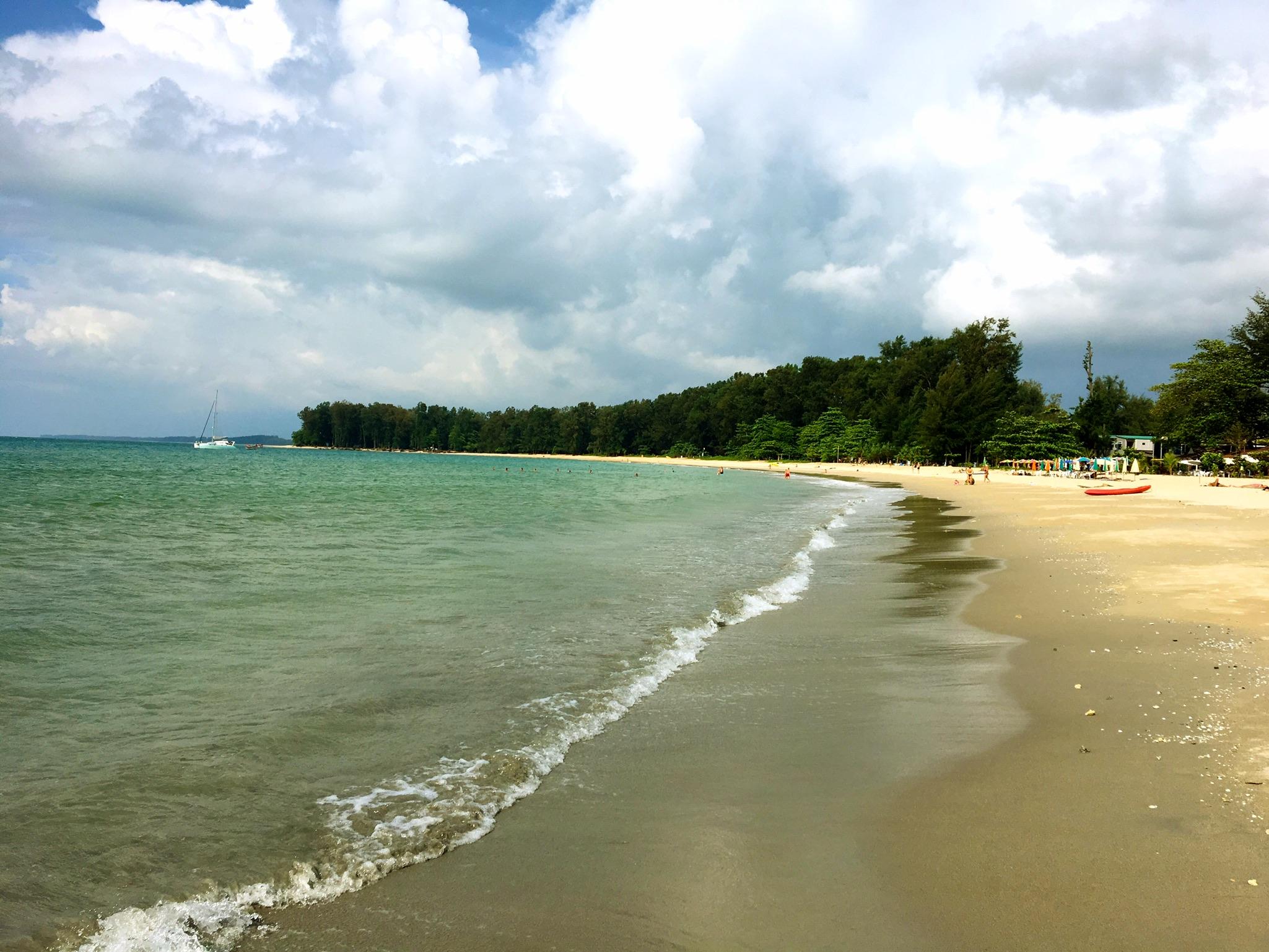 Nai Yang Beach auf Phuket in Thailand