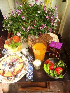 Frühstück im B&B in Groningen